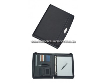 Promotional Zippered Compendium A4