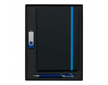 Byram A5 2GB USB & Havana Pen Notebook