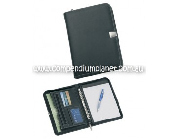Customised A5 Zippered Compendium