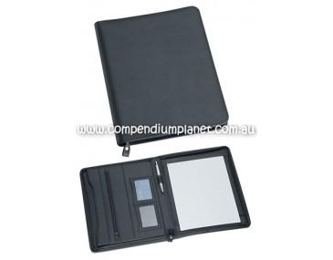 A4 Durable Zip Branded Compendium