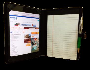 Personalised Compact Padfolio