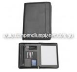 Custom-Printed Zippered A4 Compendium