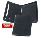 A4 Branded Leather Portfolios Deluxe