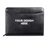 Luxury Bonded Leather Portfolios Custom